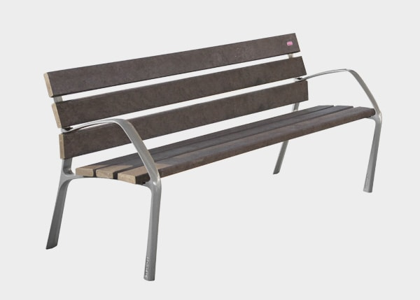 Site Furnishing ,Benches ,UB2ECO BCN21 Eco Bench