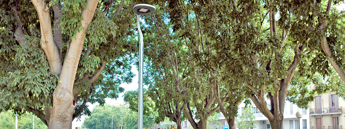 Barcelona trusts in Innova and Milan luminaires